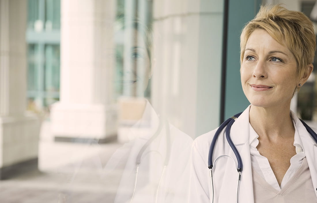 Image of a woman doctor
