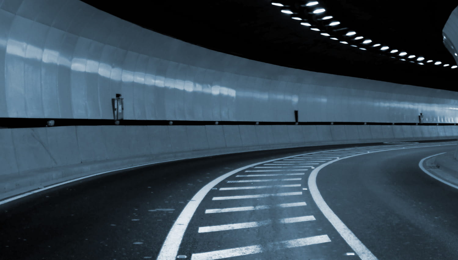 Private Equity trends image of road in tunnel