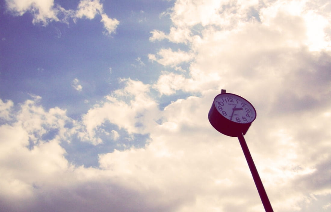 Image of outdoor clock