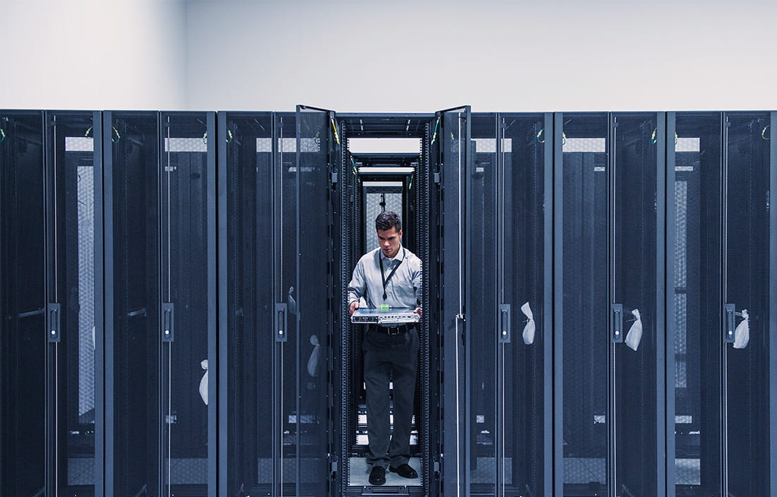 Image of server room