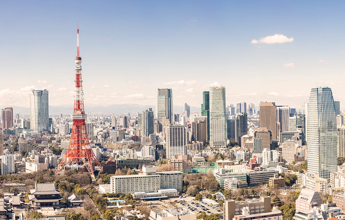 Image of the Tokyo Skyline