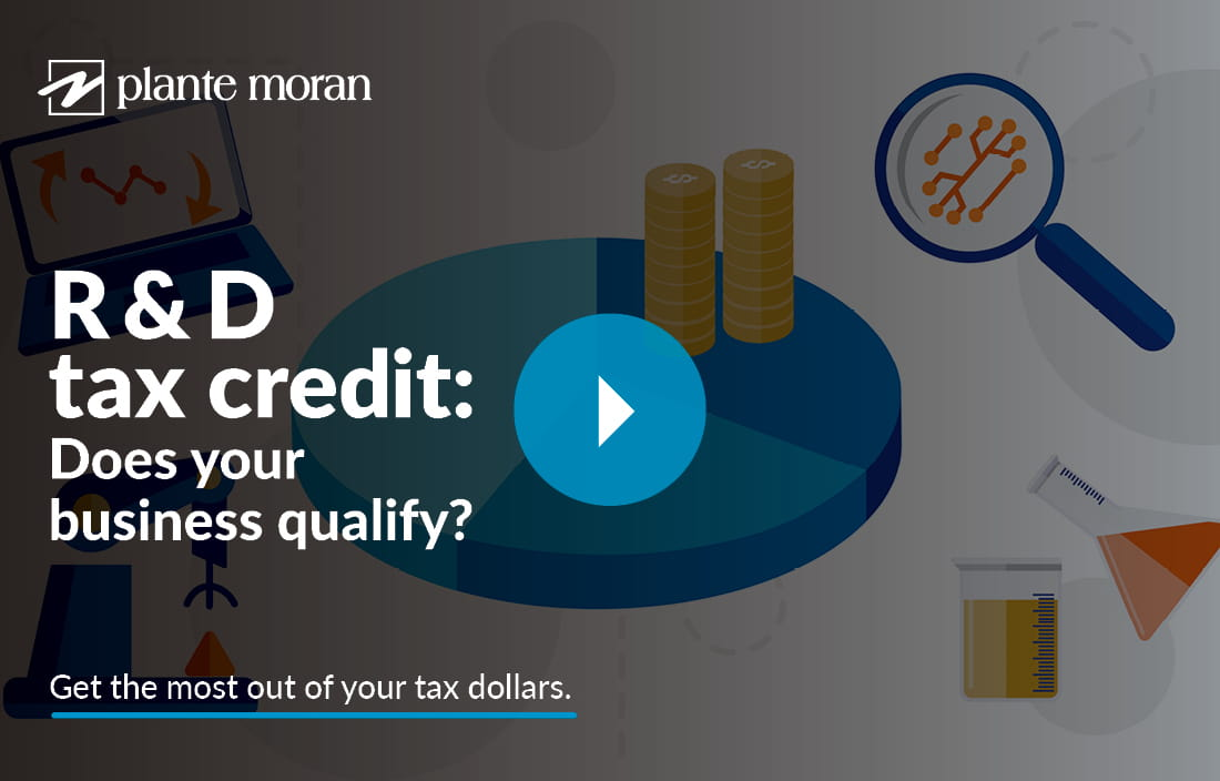 Video thumbnail introducing the R&D tax credit video.