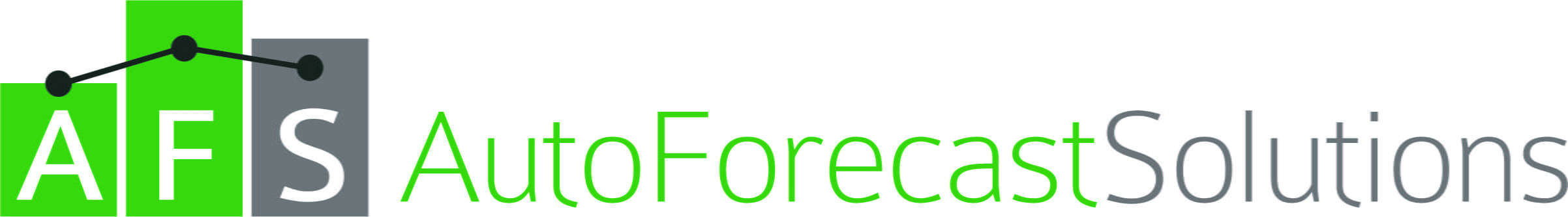 Horizontal logo for Auto Forecast Solutions (AFS).
