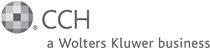 Logo of CCH, A Wolters Kluwer Business