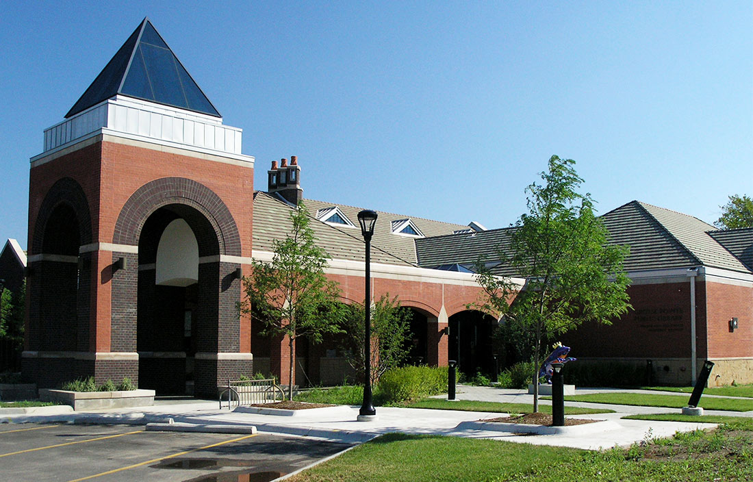 Grosse Pointe Library Exterior