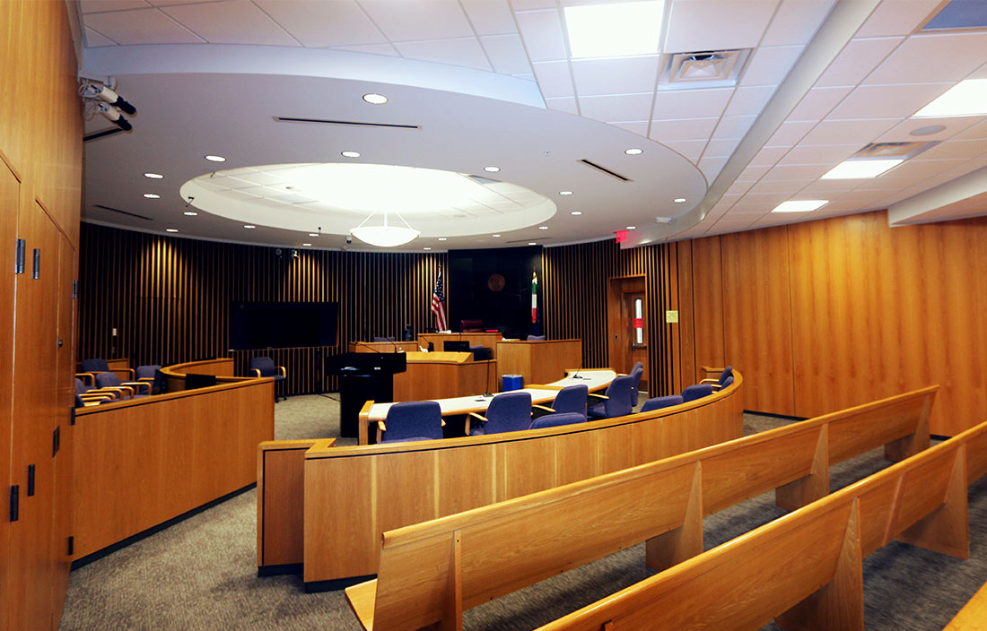 Macomb County Courtroom