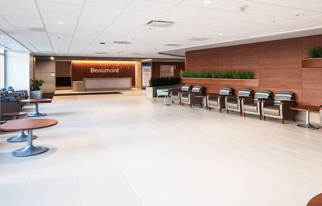 Beaumont Health System Lobby
