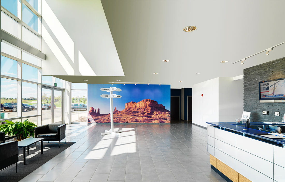 IAV Automotive Engineering Lobby