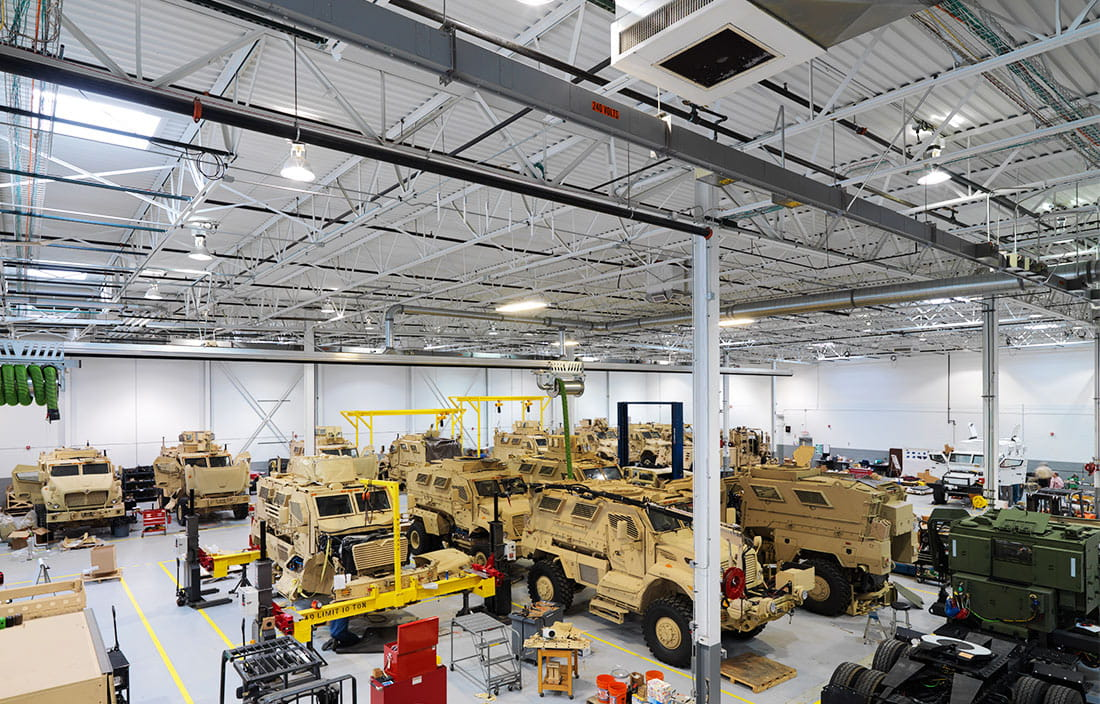 Navistar Defense Warehouse