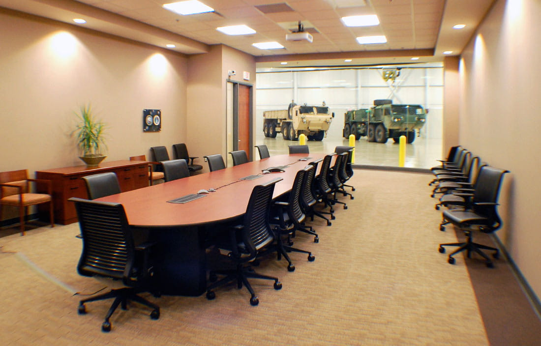 Oshkosh Defense Conference Room