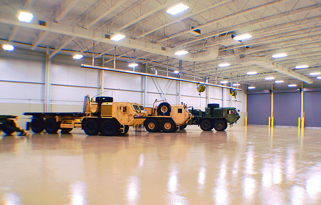 Oshkosh Defense Warehouse