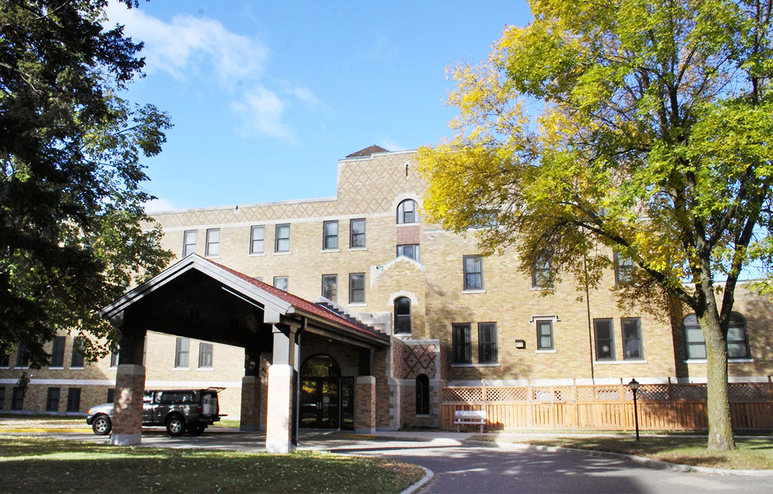 Franciscan Sisters of Little Falls Rear Entrance