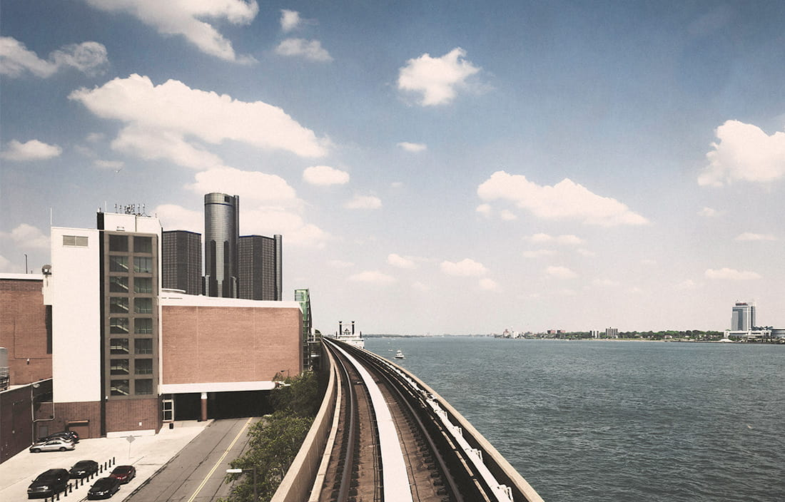 Image of Detroit waterfront