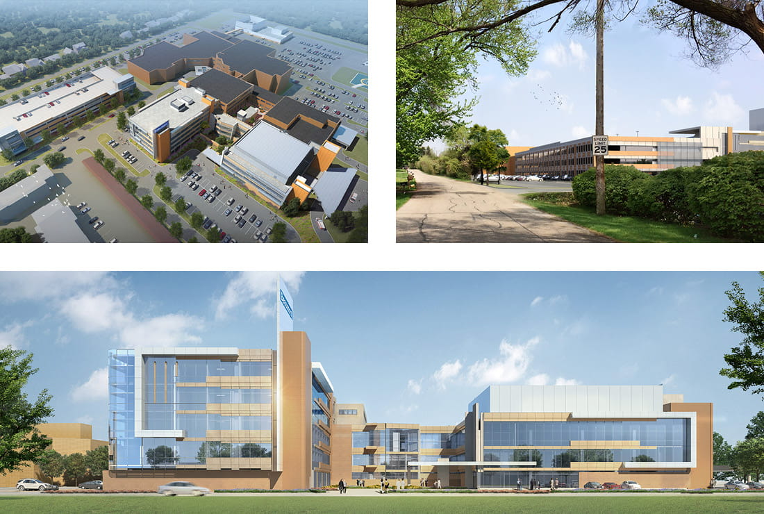 Beaumont Health Renderings for New Towers Project