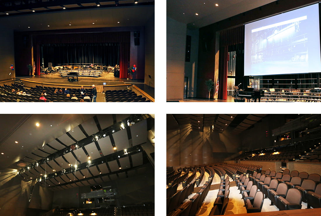Livonia Franklin High School Inside the Performing Arts Center
