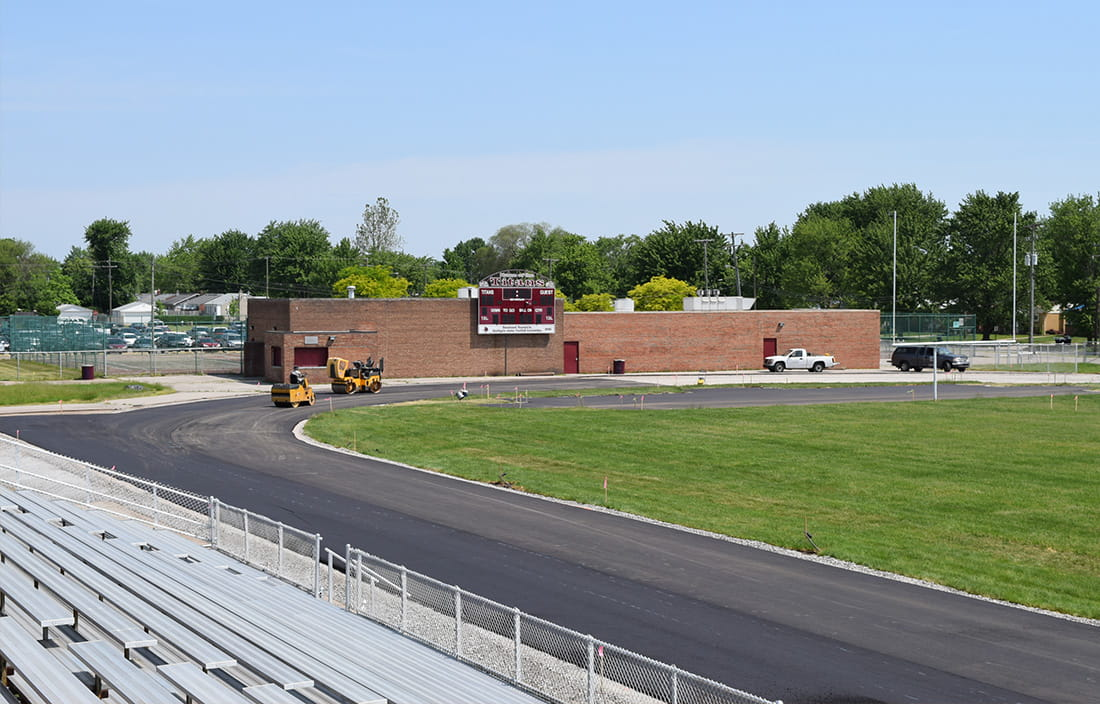 Southgate Community Schools' new track