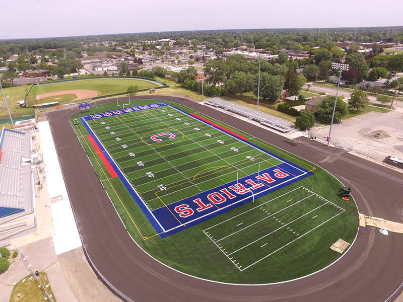 Warren Consolidated School Cousino High Football Field