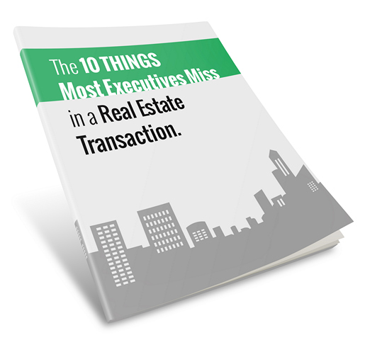Report cover for the 10 Things Most Executives Miss whitepaper
