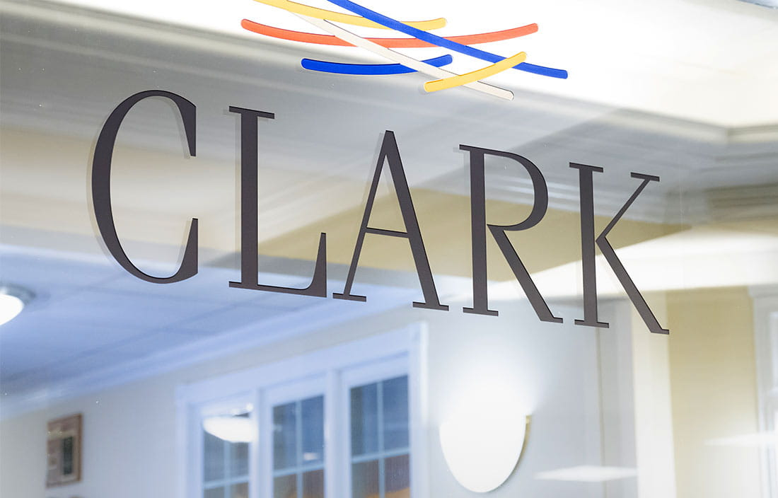 Clark Retirement Franklin Campus Window Signage