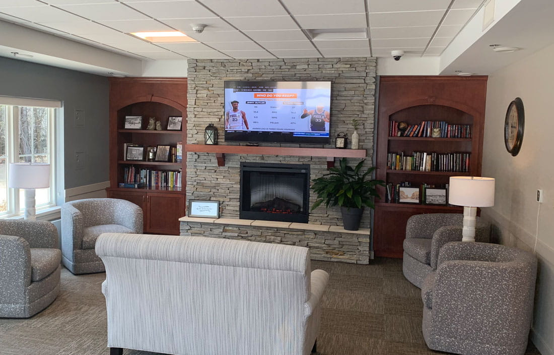 Marquette Medical Care Facility Senior Living Interior