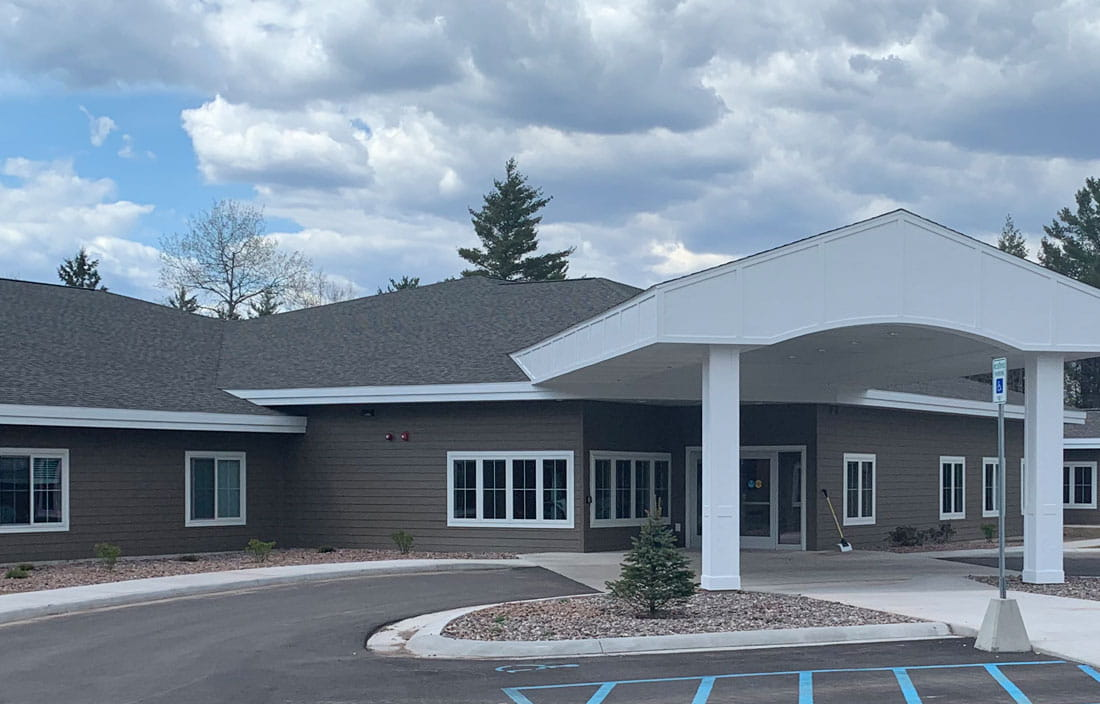 Marquette Medical Care Facility Senior Living Exterior