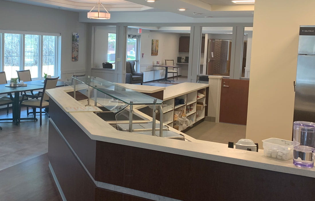 Marquette Medical Care Facility Senior Living Lobby