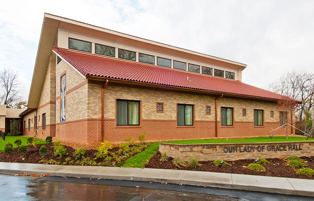 Our Lady of Grace Rosary Care Center Exterior Sign