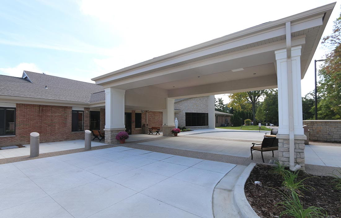 Image of Lourdes Senior Living Community for an article celebrating a success