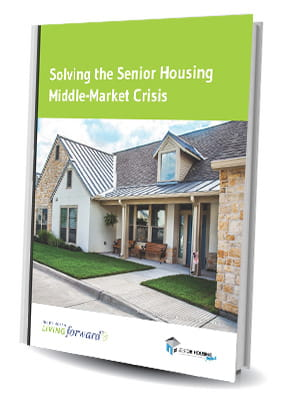 Report cover for the senior housing middle-market crisis report