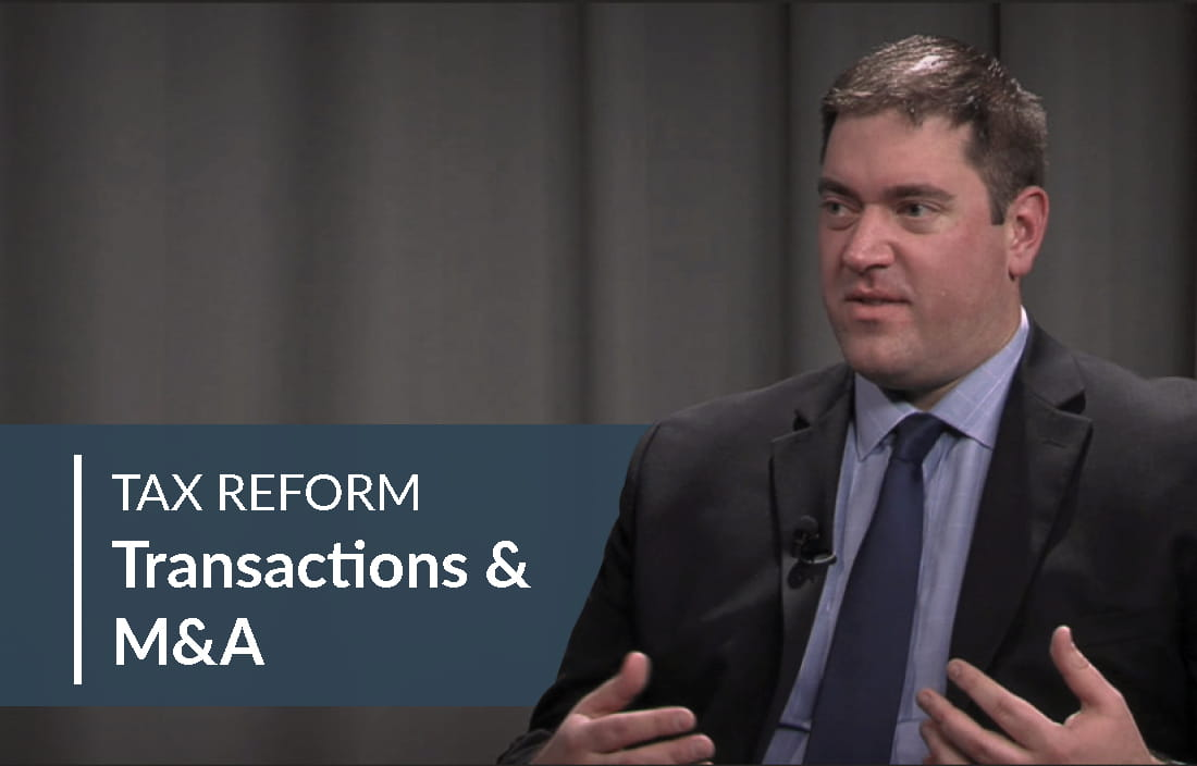 Tax Reform Transaction MA Video